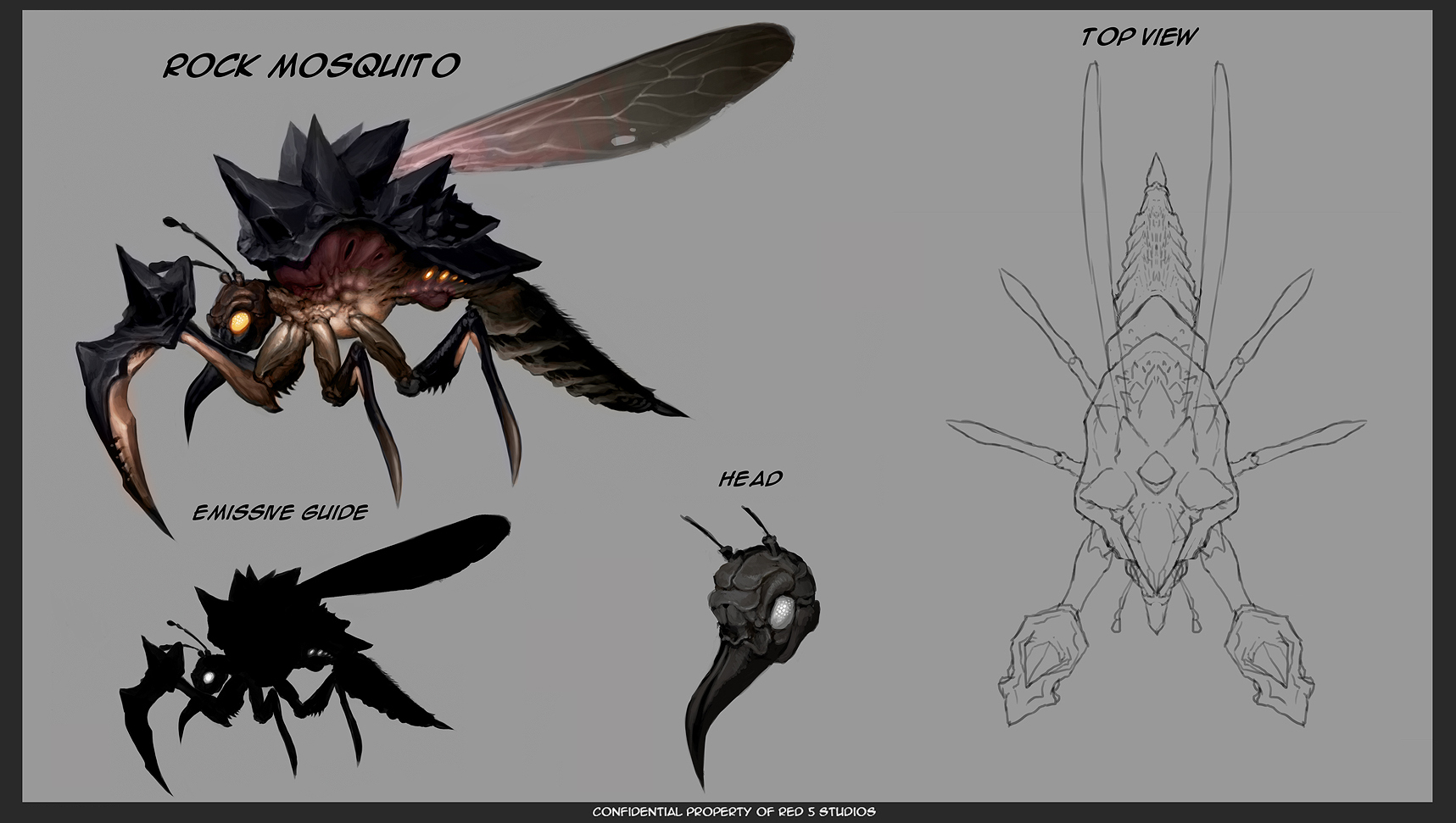 Firefall Rock Mosquito Concept by JayAxer