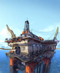 The Rig - Firefall Concept by JayAxer