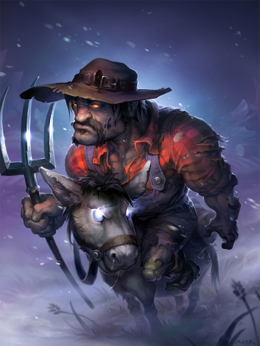 Hearthstone - Wretched Tiller by JayAxer