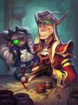 Dollmaster Dorian - Hearthstone