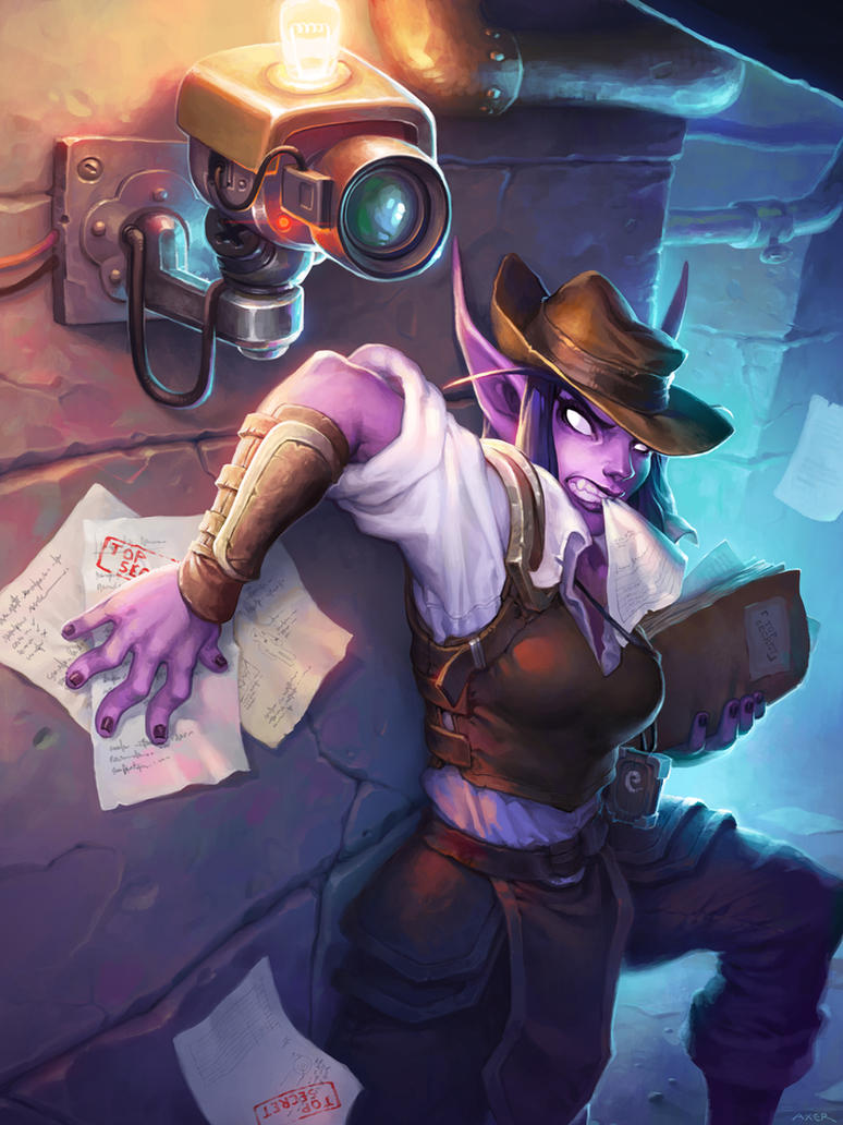 Undercover Reporter - Hearthstone by JayAxer