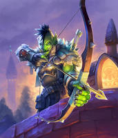 Ranger Ar-ha - Hearthstone