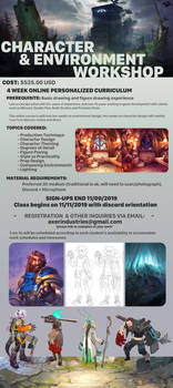 Character and Environment Workshop