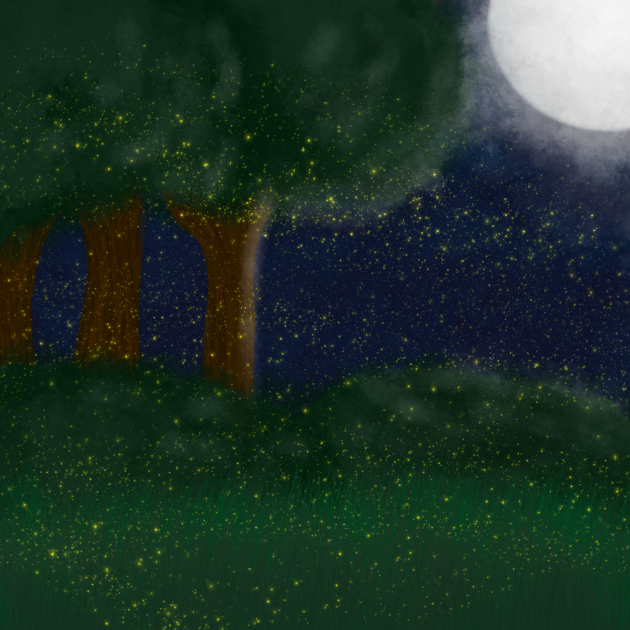 forest Background made by me by JassyTheHedgewolf