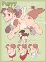 MYO Plush Dragon - Puppy by jurassiq