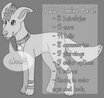 P2U Canine Base Pack by jurassiq