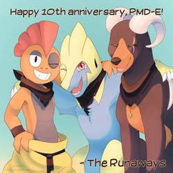 Happy 10th PMD-E!