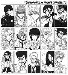 Favourite -Male- characters