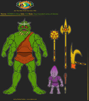 MOTUC HONDU from THE OTHER WORLD by Arco