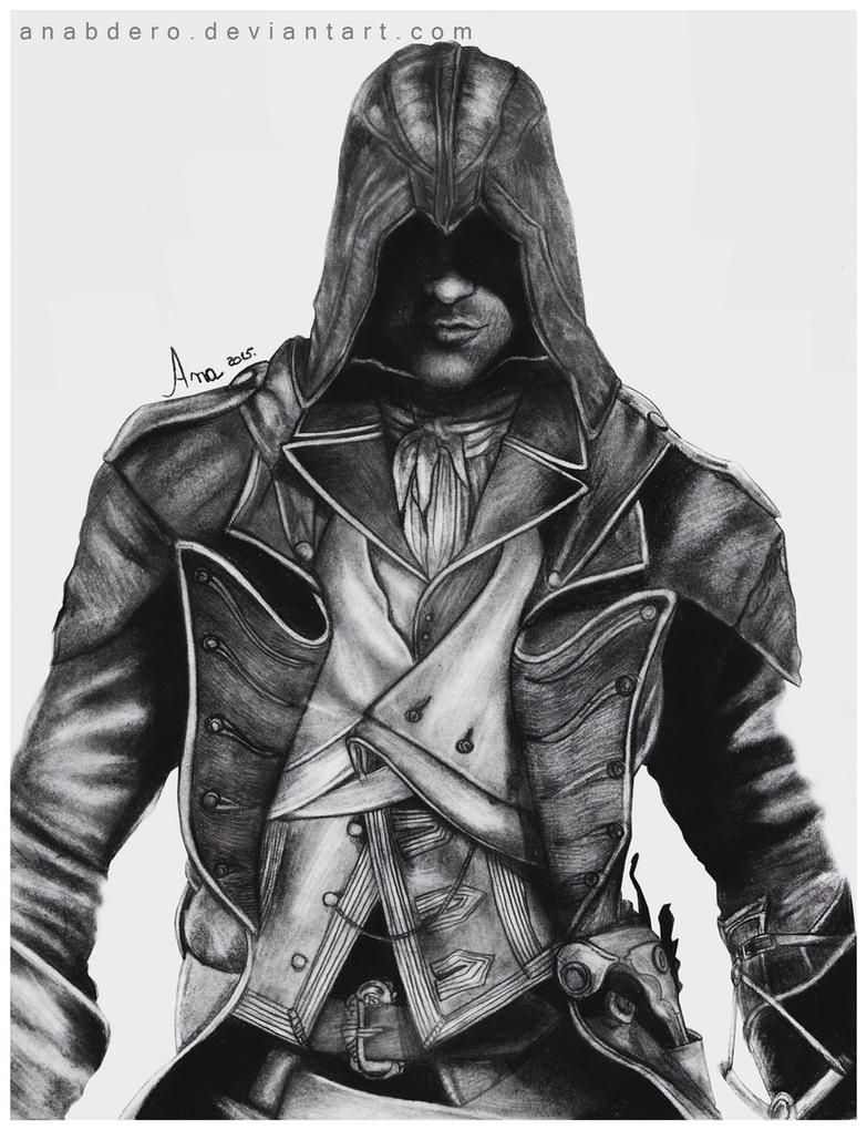 Drawing D Lines In Unity : Arno dorian assassin s creed unity by anabdero on