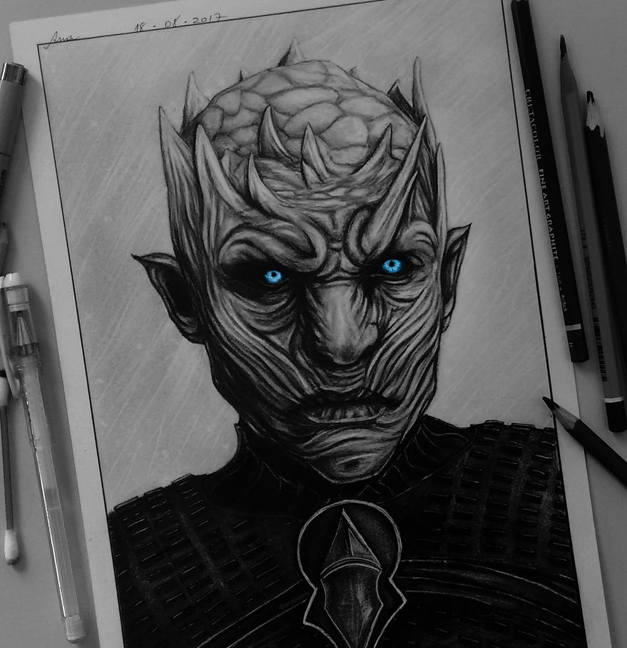 The Night King, Game Of Thrones by anabdero