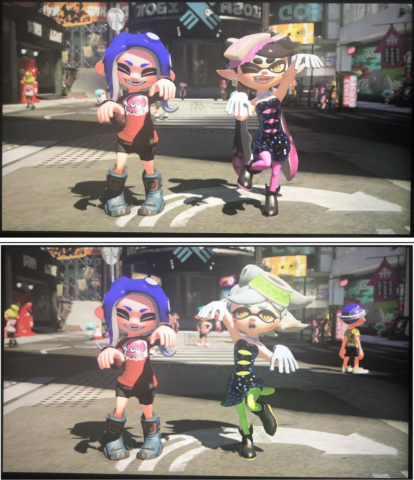 Squid Sisters Hangout - Octoling Edition by PokeMarioFan14