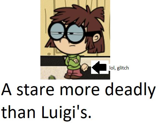 Lisa's Death Stare by PokeMarioFan14