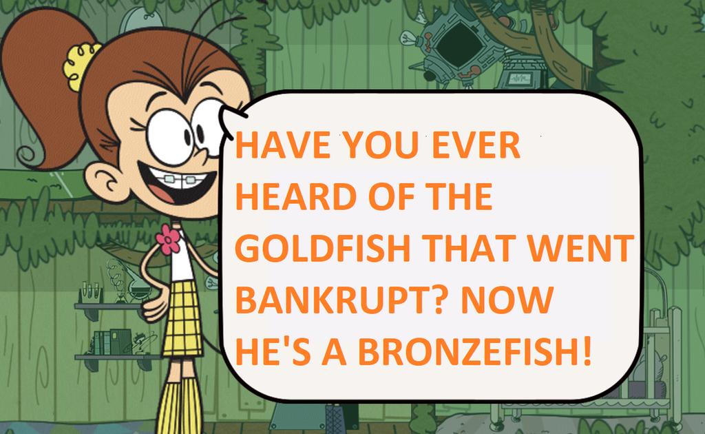 Bankrupt Goldfish by PokeMarioFan14