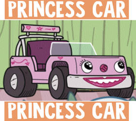 Princess Car by PokeMarioFan14