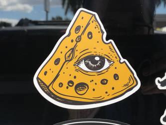 Cheese Illuminati by PokeMarioFan14