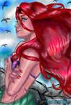 the little mermaid  by PostmortemEleanor