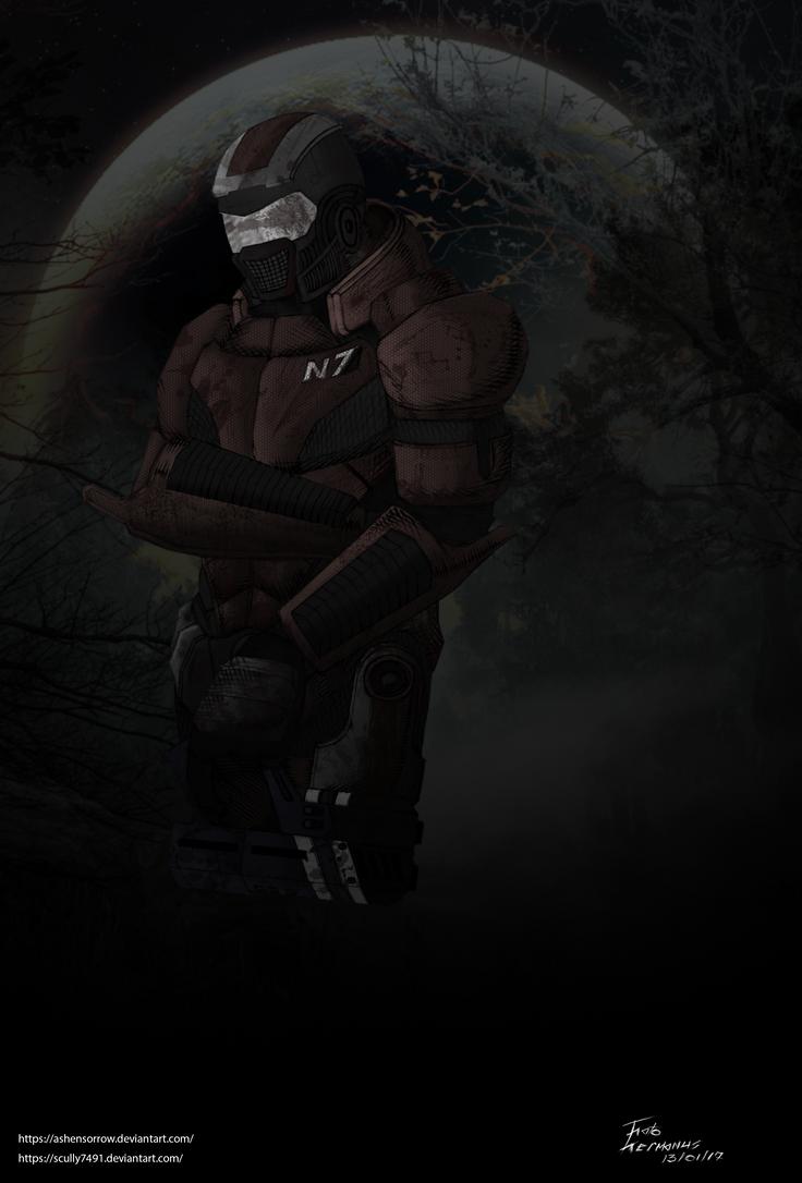 Mass Effect - Modisa wa Kgotso by blood