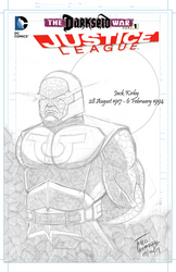 For Darkseid (In honour of Jack Kirby) - Pencils