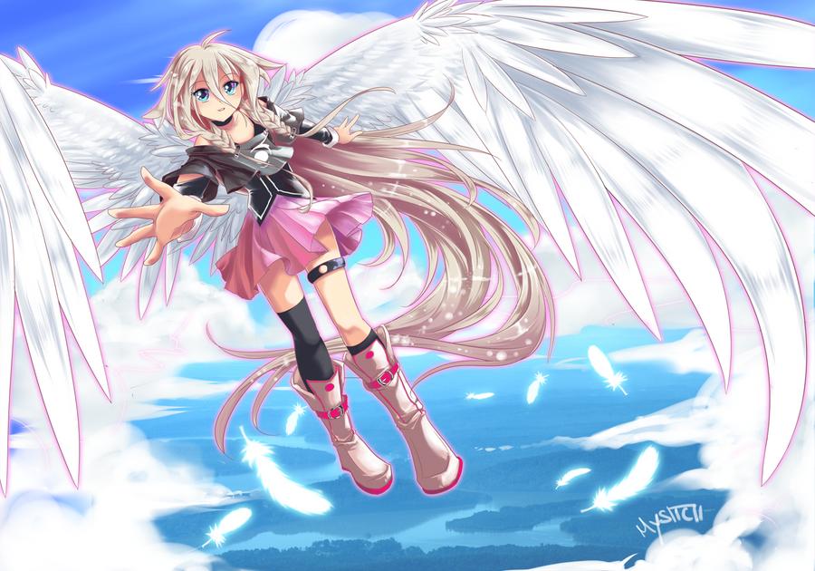Vocaloid IA by vixiebee