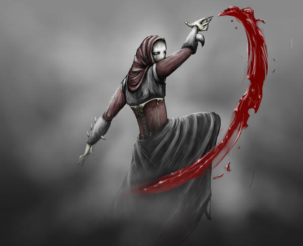 Galdra Black Elf Scythe by TicklishSocks
