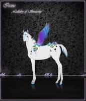 Irene - First lisqar foal from breedings! by Flutties