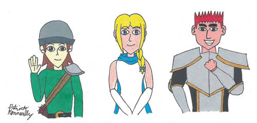 Golden Griffin Guild Main Characters