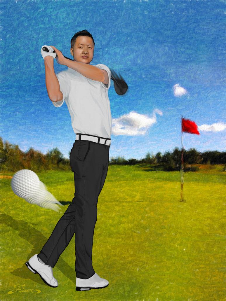 Mr Golfer by fixart