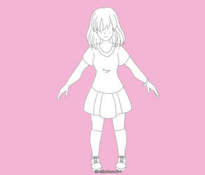 Doodle - Anatomy Practice by HelloNessa94