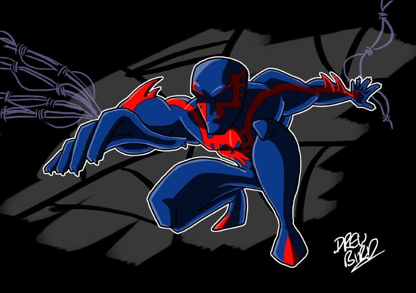 Spider-Man 2099 By Drew0b1 On DeviantArt