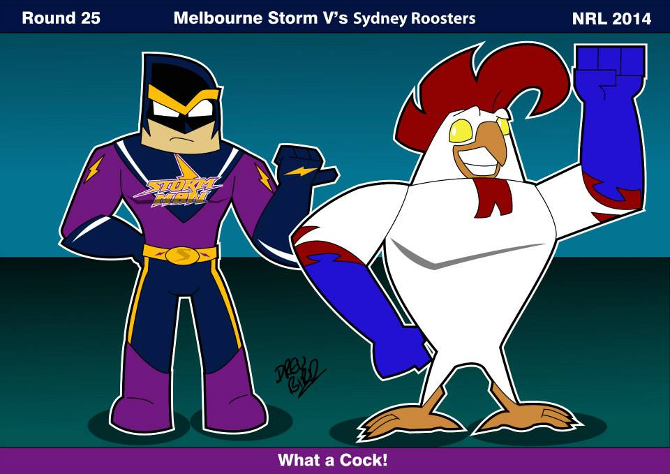 storm vs roosters - photo #37