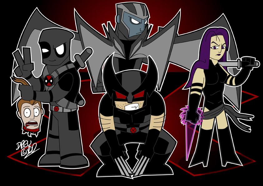 X-Force by Drew0b1