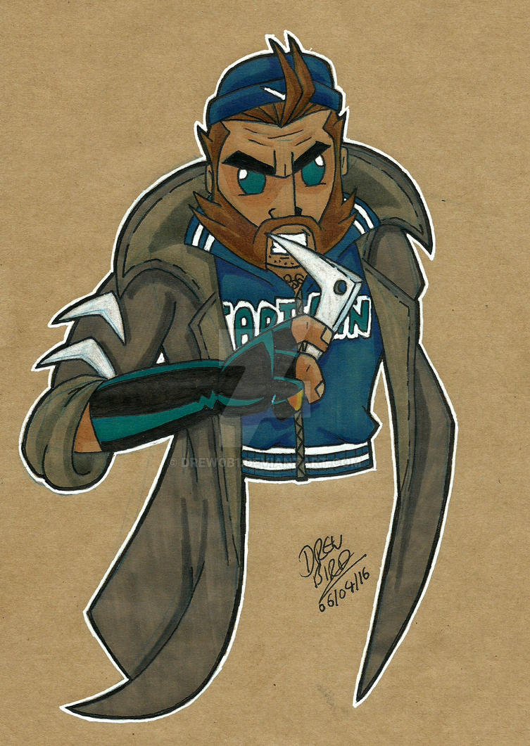 Captain Boomerang by Drew0b1