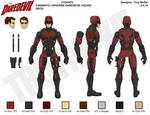 Marvel Legd-Style - MCU Daredevil Deco Sheet by thedream86
