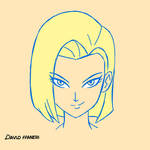Android 18 - Sketch
