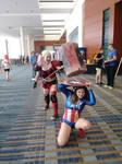 Harley Quinn vs the Captain