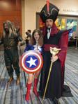 Jafar and Captain America