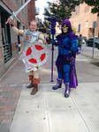 He man and Skeletor