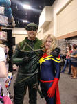 Green Arrow and Ms Marvel