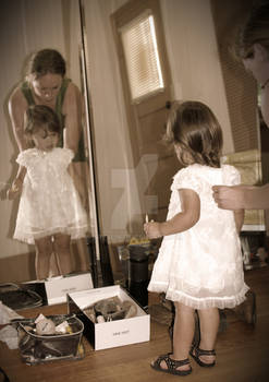 Flower Girl Reflection
