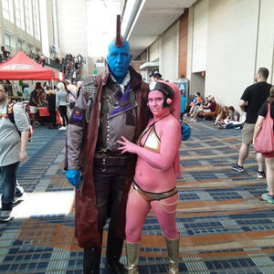 Naia and Yondu