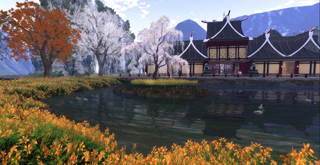 Japan Garden Project by AinelYlenia