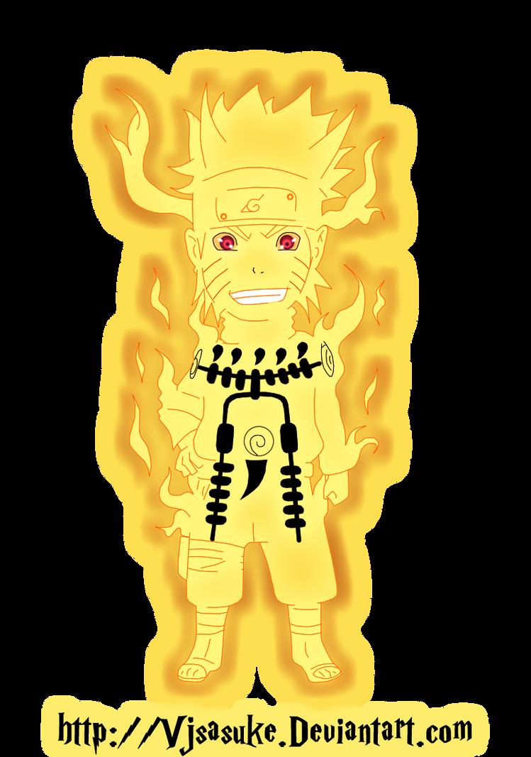 Chibi Naruto Bijuu Mode by VjSasuke on DeviantArt