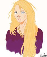 Luna Lovegood by EfMourn