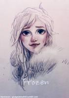 Frozen: Elsa by hantinexd