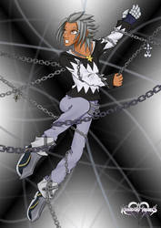 KH: A Boy Marked by Memory by PhoenixTrooper