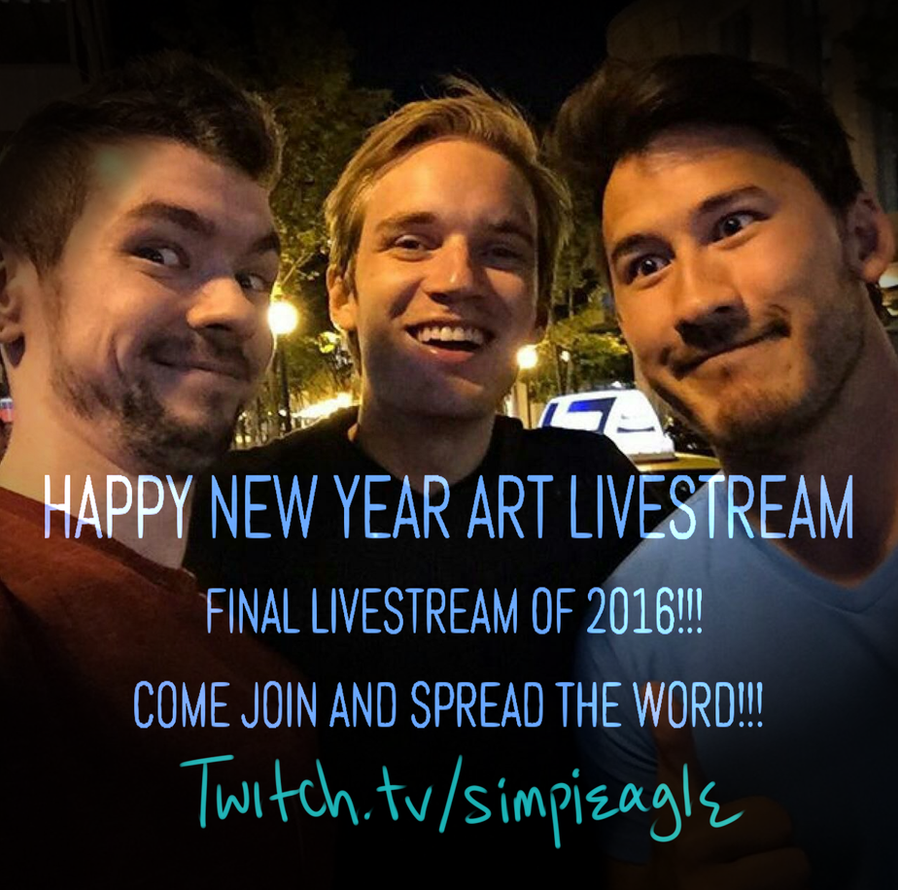 New Year Final Livestream 2016 Ad by SimplEagle