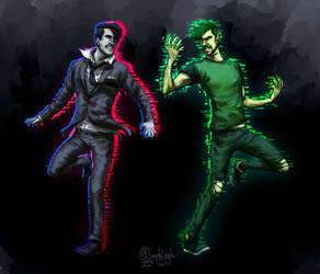 Darkiplier vs. Antisepticeye | Video 1 ed. by SimplEagle