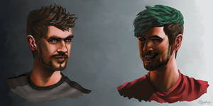 Future and Past | JackSepticEye by SimplEagle