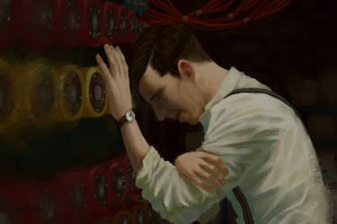 Les Namile | The Imitation Game by SimplEagle